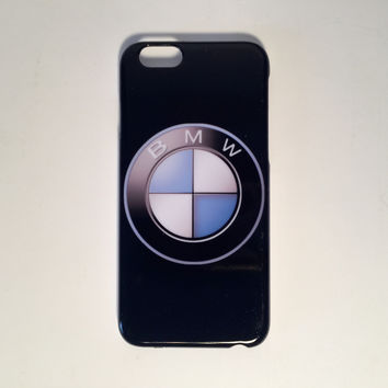 BMW logo black phone cases for the iPhone