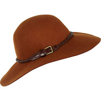 rust floppy hat