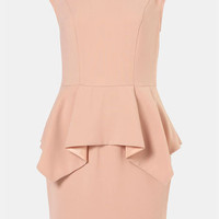 Topshop Origami Peplum Dress | Nordstrom