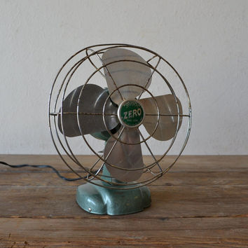 Vintage Electric Zero Fan by MakeYourNest on Etsy