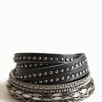 Bad Influence Bangle Set - $17.50: ThreadSence, Women's Indie & Bohemian Clothing, Dresses, & Accessories