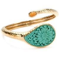 Bronzed by Barse Turquoise Cinnabar Bracelet - designer shoes, handbags, jewelry, watches, and fashion accessories | endless.com