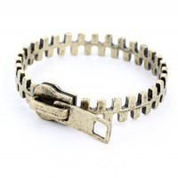 Zip Retro Metal Bracelet  - Retro, Indie and Unique Fashion