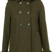Petite Ribbed Swing Coat - New In This Week  - New In