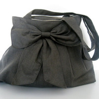 Sale Bag-Gray Bag-Everyday Bag-Double Straps