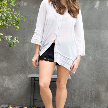 Silky Way Lace Top