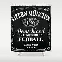 FC Bayern München JD Shower Curtain by KJ53321