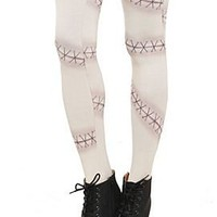 Zombie Stitch Tights - 125696