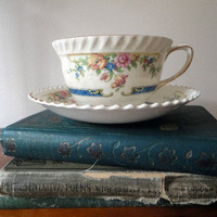 Vintage Cup and Saucer by hilltopcottage on Etsy