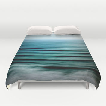Water Duvet Cover by 2sweet4words Designs