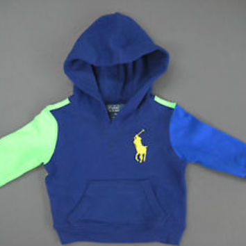 Ralph Lauren POLO Infant Boy's Classic #3 Sweater Size 9 M / New With Tags