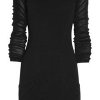Theyskens' Theory|Woven-cotton dress |NET-A-PORTER.COM