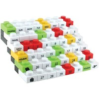 Made By Humans, Perpetual Puzzle Calendar, Desk Calendar