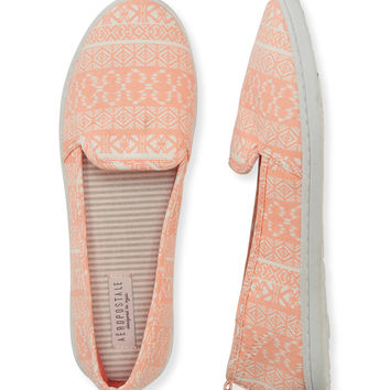 Aeropostale  Tribal Print Slip-On Shoe