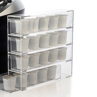 Acrylic Coffee Pod Holder @ Sharper Image