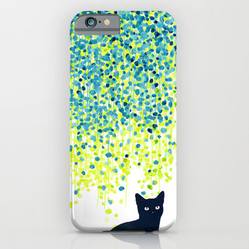 Cat in the garden iPhone & iPod Case by Budi Satria Kwan