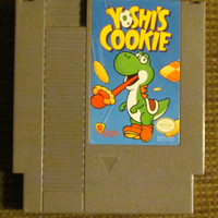 YOSHI'S Cookie, Original Nintendo Game (NES) 8 bit