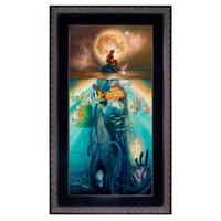 Framed Limited-Edition ''Fathoms Below'' The Little Mermaid Giclée | Giclees | Disney Store