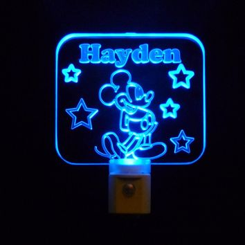 Personalized Custom LED Night Lights and Signs
