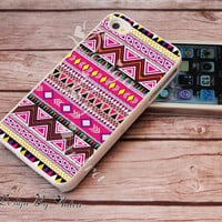 Aztec iPhone 5 case, iPhone Case, iphone case custom  Aztec  Yellow Case