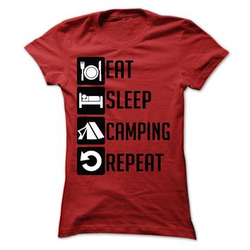 Eat, Sleep, Camping and R