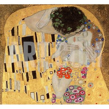 The Kiss, 1907-08 Giclee Print by Gustav Klimt at Art.com