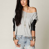Free People FP Denim Cut Off Shorts