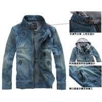 Autumn New Style In Vogue Jean Male Casual Jacket Long Sleeve M/L/XL @S0D13-1 $48.99 only in eFexcity.com.