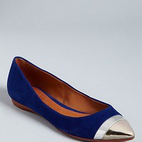 SCHUTZ Pointed Toe Cap Toe Flats - Edna - Shoes - Bloomingdale's