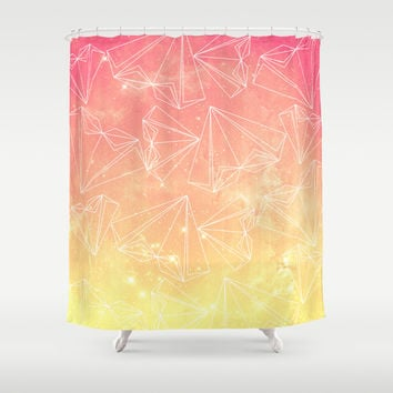 A heart is made of ... wishes Shower Curtain by VessDSign