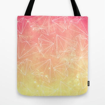 A heart is made of ... wishes Tote Bag by VessDSign