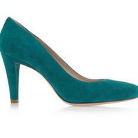 Miu Miu Suede Pumps - $203.00 : Designer Shoes Online,Wholesale Designer Shoes,Designer Discount Shoes