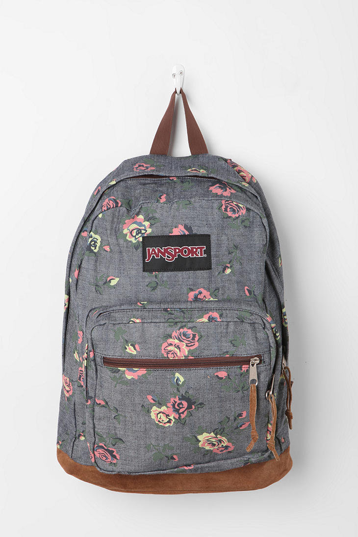 Jansport Floral Chambray Backpack from Urban Outfitters Epic : original from wanelo.com size 730 x 1095 jpeg 126kB