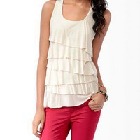 Tiered Metallic-Blend Tank