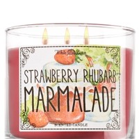 3-Wick Candle Strawberry Rhubarb Marmalade