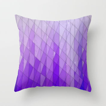 Ode to Purple Throw Pillow by DuckyB (Brandi)