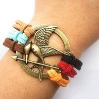 Mockingjay inspired Bracelet