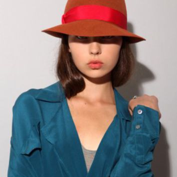 Sienna Fedora hat [Yik6399] - $95 : Pixie Market, Fashion-Super-Market