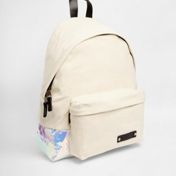 Eastpak Padded Backpack With Holographic Panel