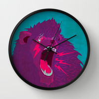 Voice of Thunder Wall Clock by ELECTRICMETHOD.NET
