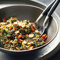 Bacon and Kale Adobo Recipe | MyRecipes.com