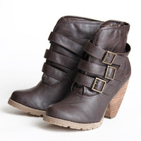 Blowfish Aerin buckled ankle boots - &amp;#36;72.99 : ShopRuche.com, Vintage Inspired Clothing, Affordable Clothes, Eco friendly Fashion