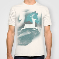 Over The Moon T-shirt by ▲ Bright Enough | Society6