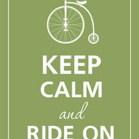 Keep calm and ride on by Gayana on Etsy