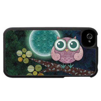 Midnight Owl iPhone 4 Case from Zazzle.com