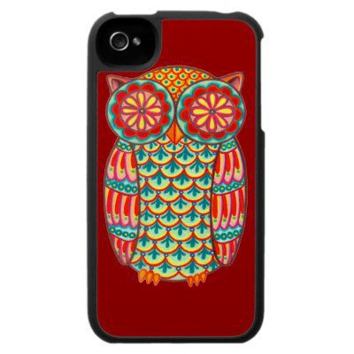 Owl iPhone 4 Case from Zazzle.com