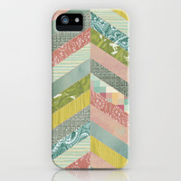 Herringbone Pattern iPhone Case by ElephantTrunkStudio | Society6