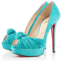 Christian Louboutin Jenny Pumps 150mm Jade