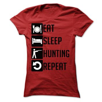 Eat, Sleep, Hunting and R
