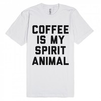 Spirit Animal-Unisex White T-Shirt